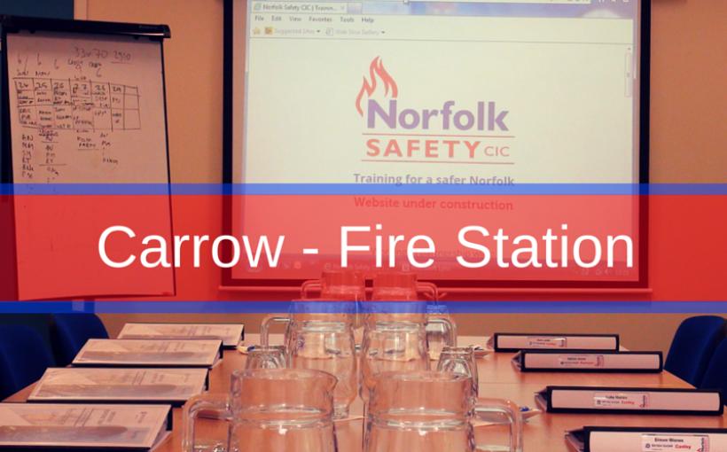 Carrow Fire Station