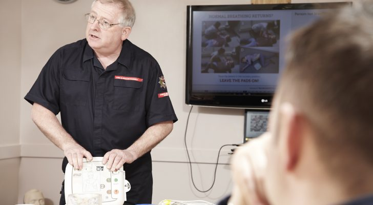 Emergency First Response – CPR & Defibrillation Training