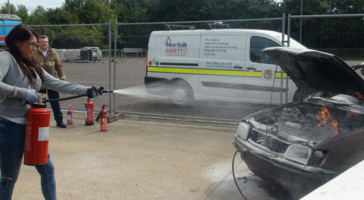 Safety On A Petroleum Forecourt (Norfolk/Suffolk Trading Standards)