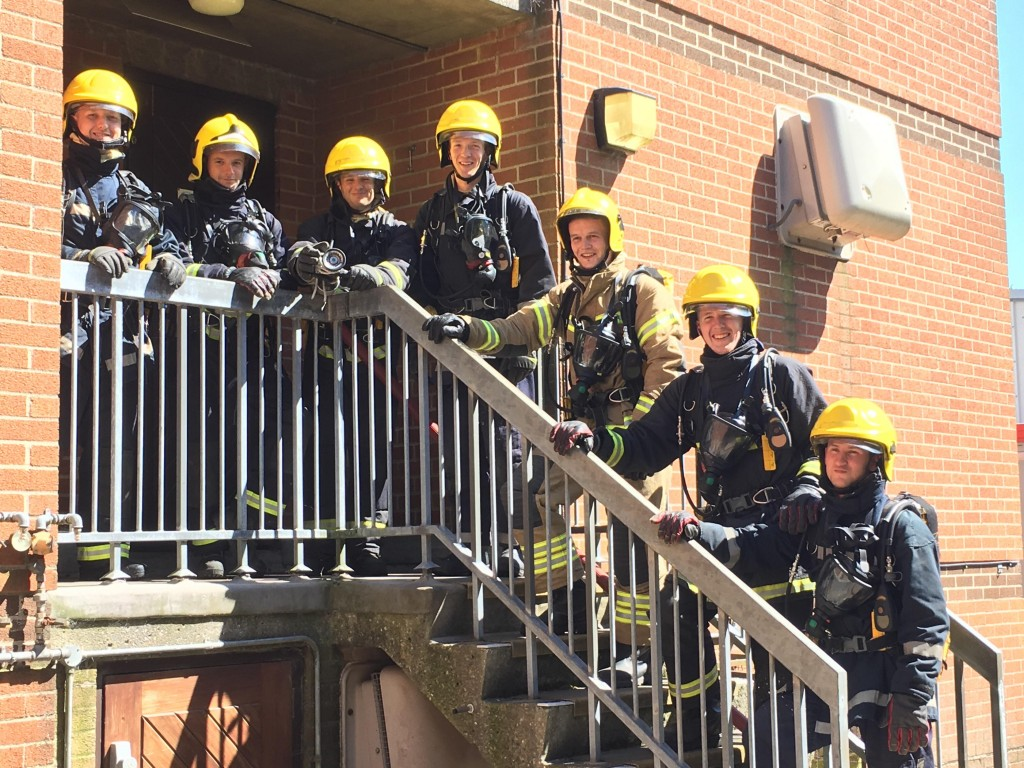 Cantley Emergency Response Team on their BA Initial Training