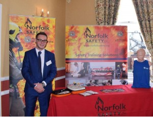 Norfolk Safety CIC Apprentice at exhibition