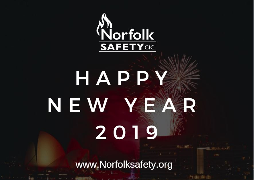 Norfolk Safety CIC wish all customers exisiting and new a happy new year for 2019