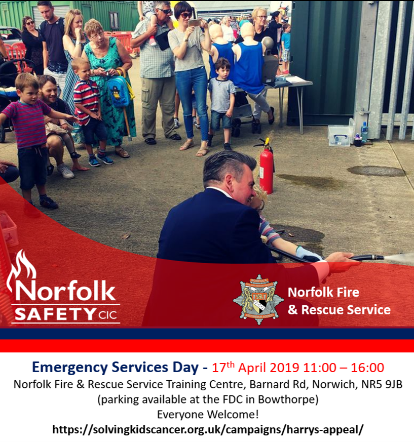 OPEN Day with Fire Safety demonstrations and activities